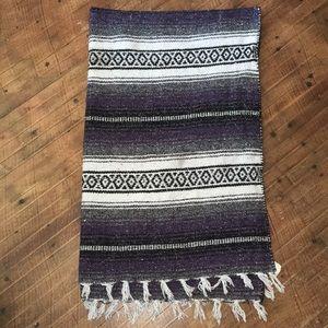Mexican made bohemian Falsa blanket